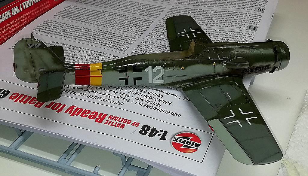 Eduard-8184-Fw-190-D-9-Werkstattbericht-Lackierung-GlanzlackWashSmoke Werkstattbericht: FW 190 D-9 von Eduard in 1:48