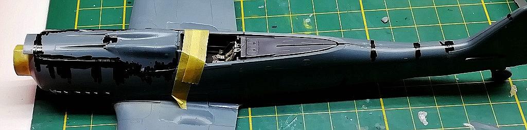 Eduard-8184-Fw-190-D-9-Werkstattbericht-Nieten-schwarz-2 Werkstattbericht: FW 190 D-9 von Eduard in 1:48