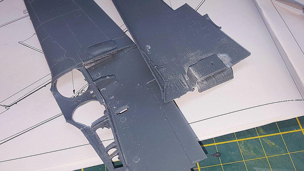 Eduard-8184-Fw-190-D-9-Werkstattbericht-Tragflächen Werkstattbericht: FW 190 D-9 von Eduard in 1:48