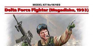 DELTA FORCE FIGHTER (MOGADISHU) 1993 1:16 von ICM # 16103