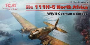 "Heinkel He 111 H-6 ""North Africa"" in 1:48 von ICM # 48265"