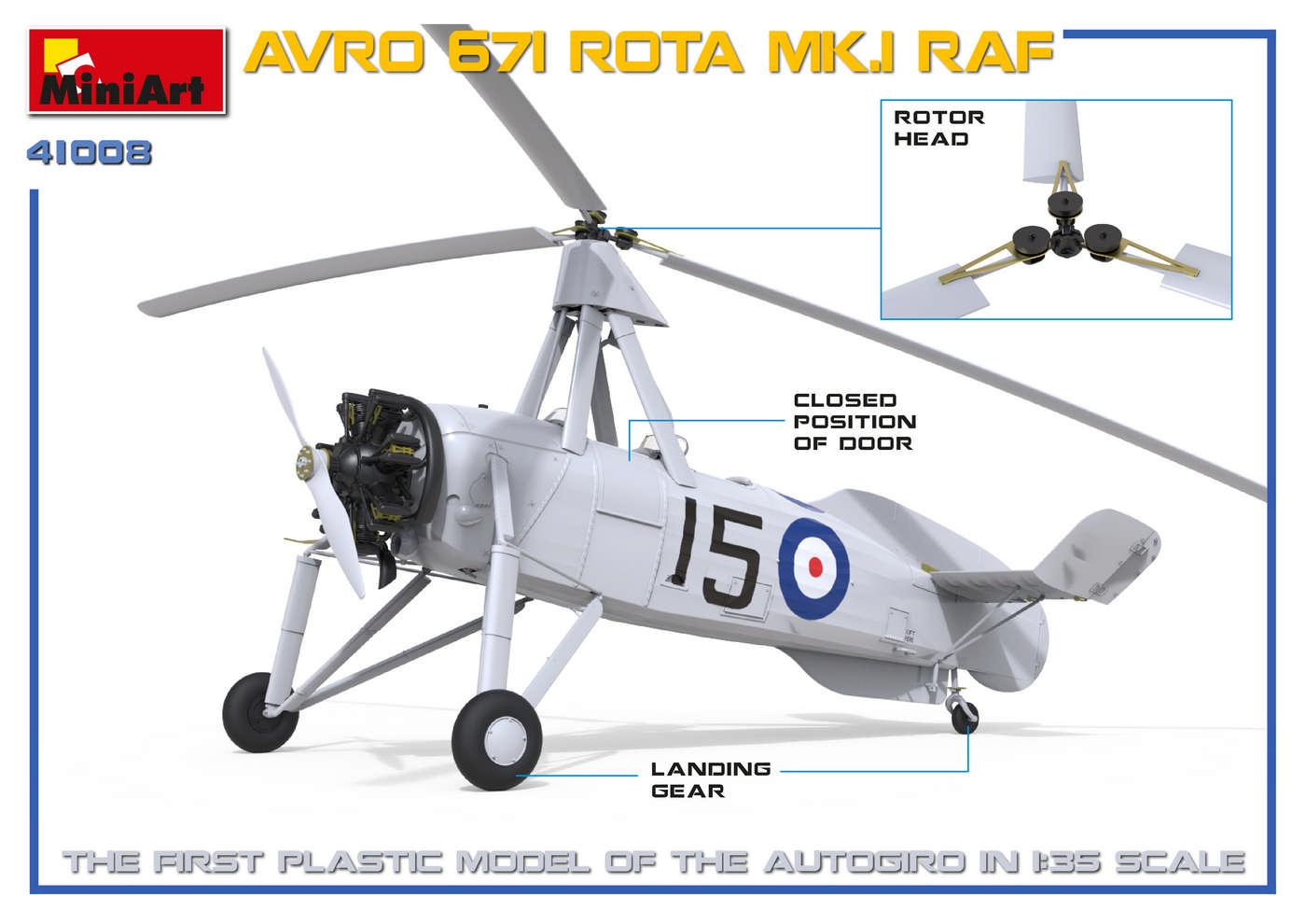 MiniArt-41008-AVRO-Rota-1 Avro Rota MiniArt 1:35 neue Bilder