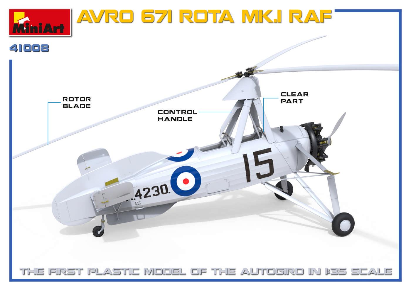 MiniArt-41008-AVRO-Rota-2 Avro Rota MiniArt 1:35 neue Bilder