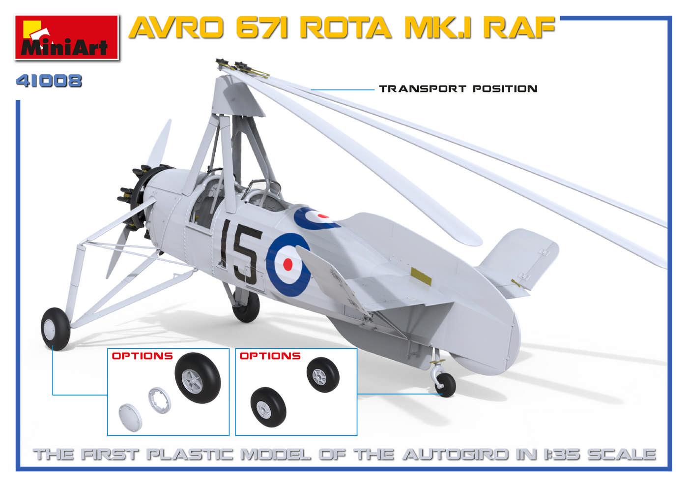 MiniArt-41008-AVRO-Rota-3 Avro Rota MiniArt 1:35 neue Bilder
