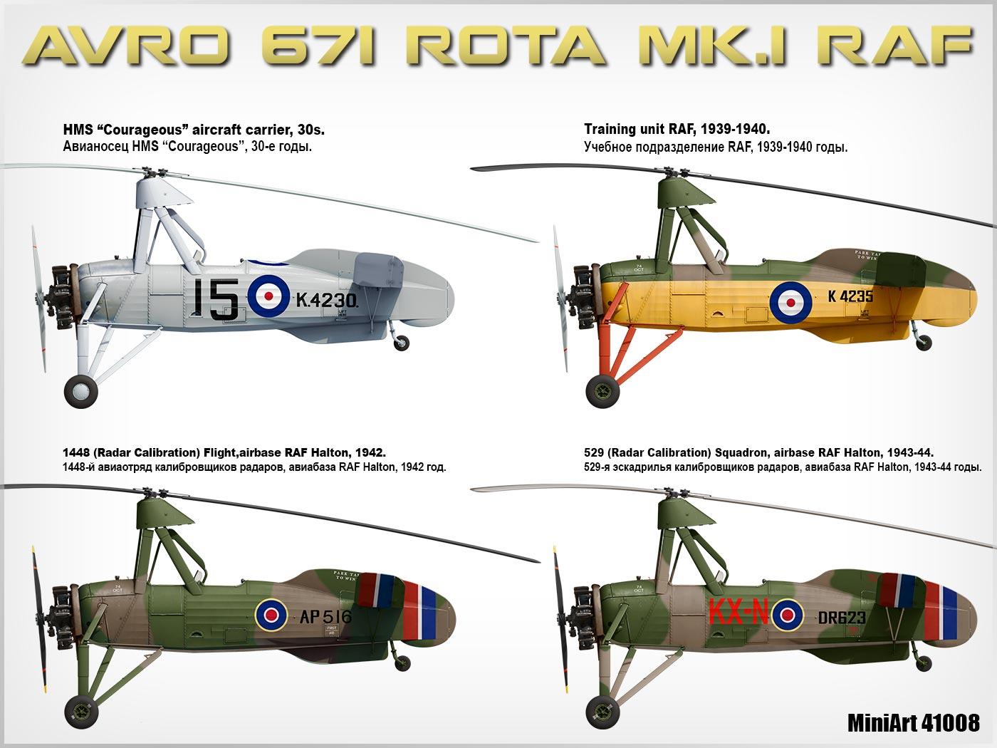 MiniArt-41008-AVRO-Rota-8 Avro Rota MiniArt 1:35 neue Bilder