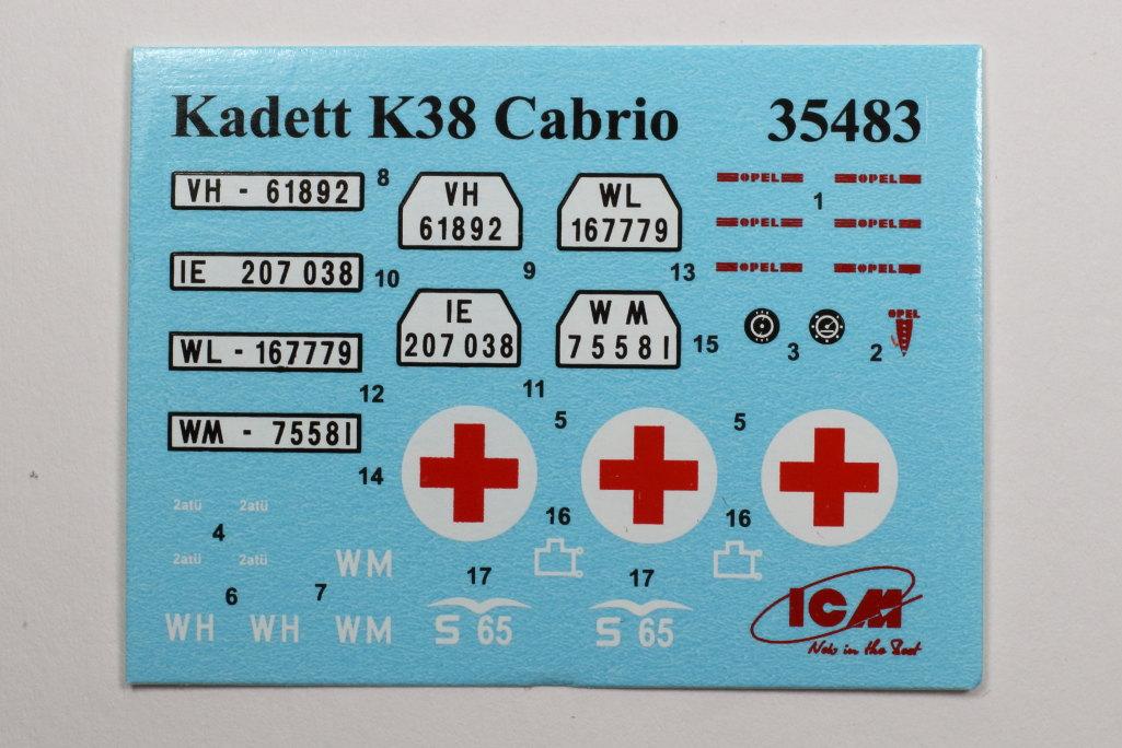 Review_ICM_Kadett_K38_Cabrio_22 Opel Kadett K38 Cabriolimousine - ICM 1/35