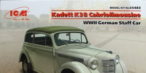 Opel Kadett K38 Cabriolimousine – ICM 1/35