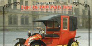 Renault AG-1 1910 Paris Taxi – ICM 1/24