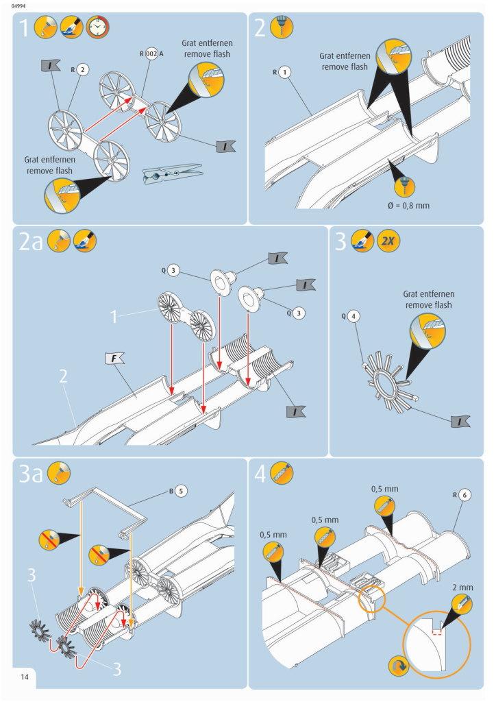 Review_Revell_F-18E_073 F/A-18E Super Hornet - Revell 1/32   #04994
