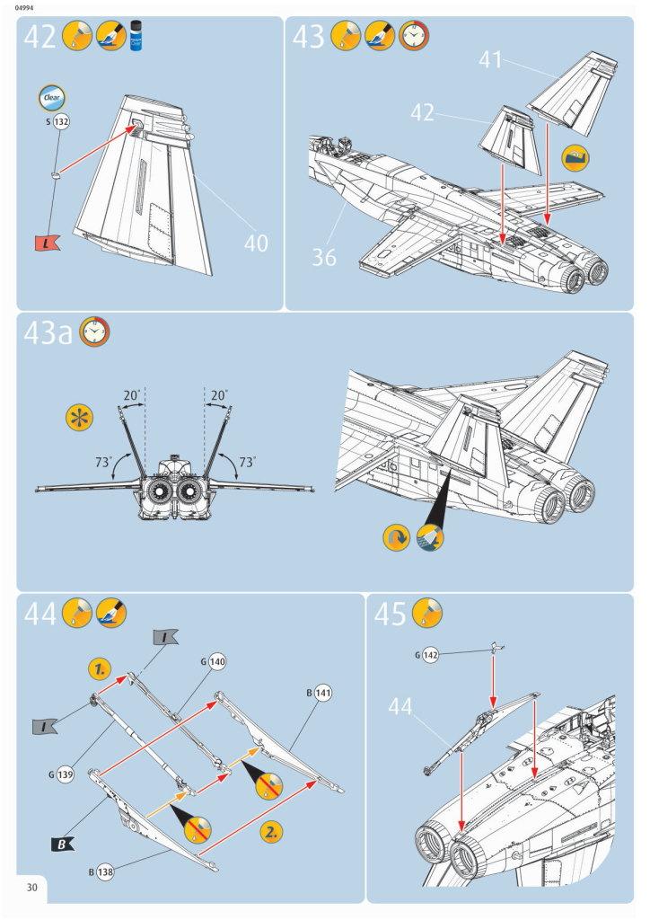 Review_Revell_F-18E_089 F/A-18E Super Hornet - Revell 1/32   #04994