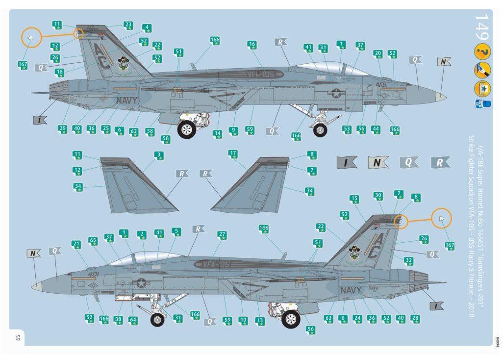 Review_Revell_F-18E_118-e1566576144195 F/A-18E Super Hornet - Revell 1/32   #04994