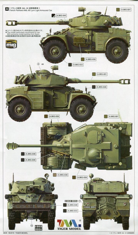 Review_Tiger_Model_AML-90_50 Panhard AML-90 - Tiger Model 1/35
