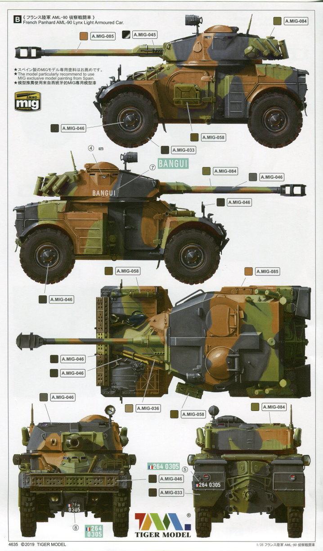 Review_Tiger_Model_AML-90_51 Panhard AML-90 - Tiger Model 1/35