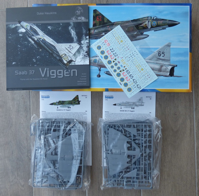 "SpecialHobby-SH-72411-Viggen-Duo-Pack2 Special Hobby Saab Viggen ""Duo-Pack"" in 1:72 # 72411"