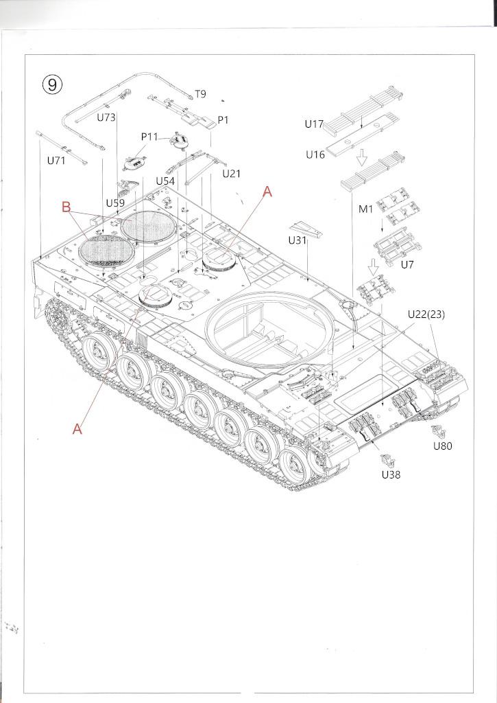 Anleitung06 German Main Battle Tank Leopard 2 A5/A6 1:35 Border Model (BT-002)