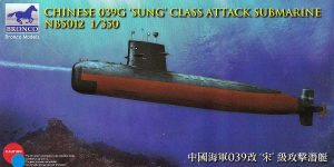 "Chinese 039G ""Sung""class Attack Submarine in 1:350 von Bronco # NB 5012"