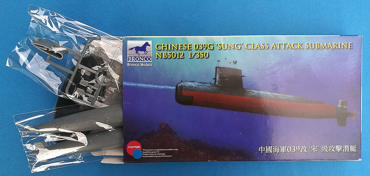 BRONCO-NB-5012-Chineses-039G-Sung-Class-Attack-Submarine-4 Tag des Modellbaus 2019