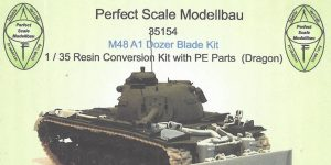 M48A1 Dozer Blade Kit 1:35 Perfect Scale (#35154)