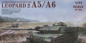 German Main Battle Tank Leopard 2 A5/A6 1:35 Border Model (BT-002)