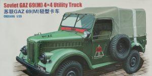 Soviet GAZ 69(M) 4×4 Utility Truck 1:35 Bronco (CB35096)