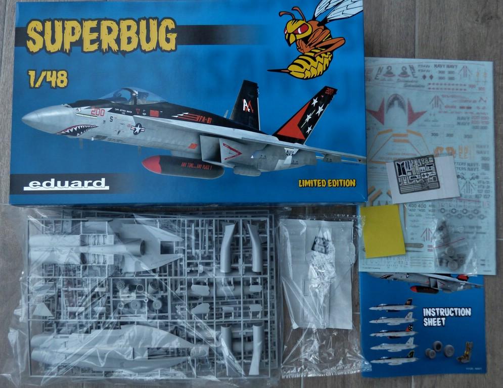 """Eduard-11129-F-18E-Superbug-2 F-18E """"Superbug"""" als Limited Edition von Eduard #11129"""