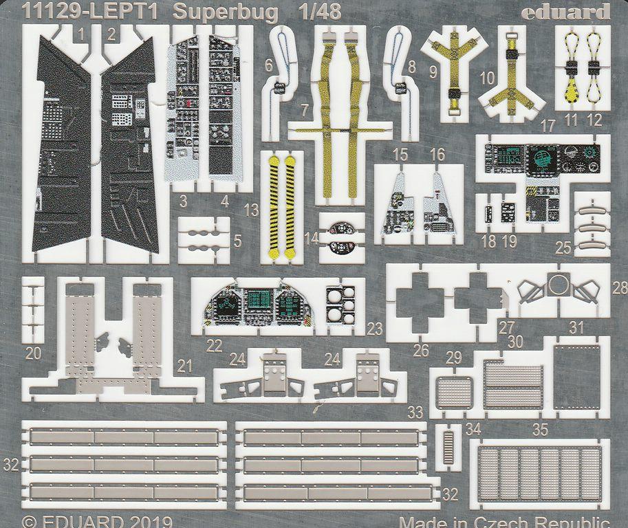 """Eduard-11129-F-18E-Superbug-46 F-18E """"Superbug"""" als Limited Edition von Eduard #11129"""