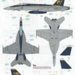 """Eduard-11129-F-18E-Superbug-71-150x150 F-18E """"Superbug"""" als Limited Edition von Eduard #11129"""
