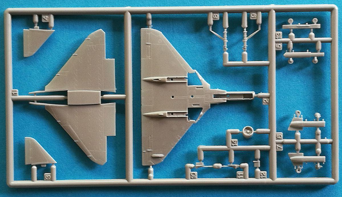 Eduard-4466-A-F-13 A-4F Skyhawk in 1:144 von Eduard #4466