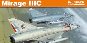 Mirage IIIC in 1:48 von Eduard # 8103