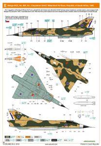Eduard-8103-Mirage-III-C11-208x300 Eduard 8103 Mirage III C11