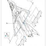 Eduard-8103-Mirage-III-C17-150x150 Mirage IIIC in 1:48 von Eduard # 8103