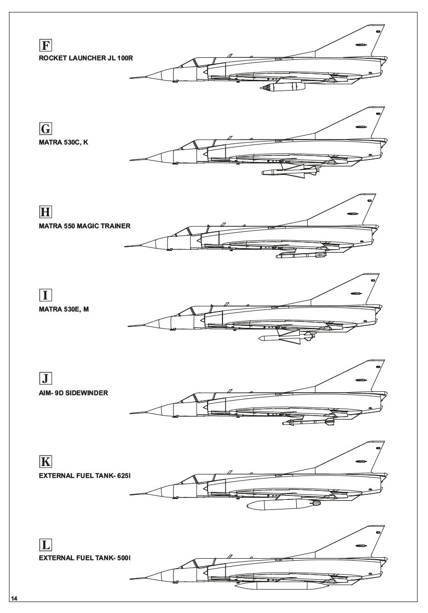 Eduard-8103-Mirage-III-C5 Mirage IIIC in 1:48 von Eduard # 8103