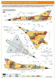 Eduard-8103-Mirage-III-C9-210x300 Eduard 8103 Mirage III C9