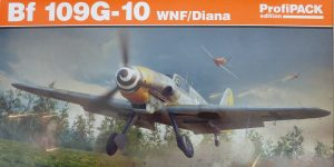 Messerschmitt Bf 109 G-10 WNF/Diana in 1:48 Eduard Profi-Pack #82161