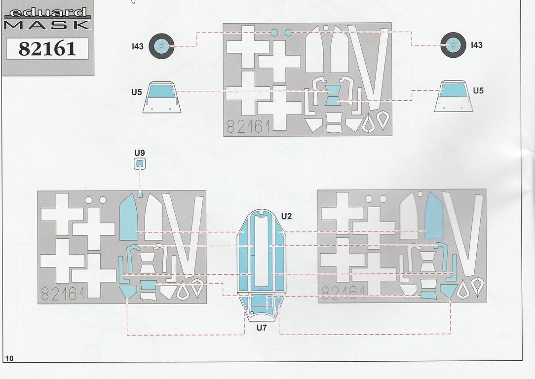 Eduard-82161-Bf-109-G-10-WNF-Diana-17 Messerschmitt Bf 109 G-10 WNF/Diana in 1:48 Eduard Profi-Pack #82161