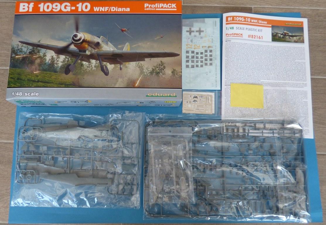 Eduard-82161-Bf-109-G-10-WNF-Diana-2 Messerschmitt Bf 109 G-10 WNF/Diana in 1:48 Eduard Profi-Pack #82161