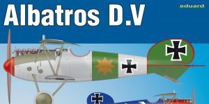 Albatros D.V in 1:48 Eduard WEEKEND #8408