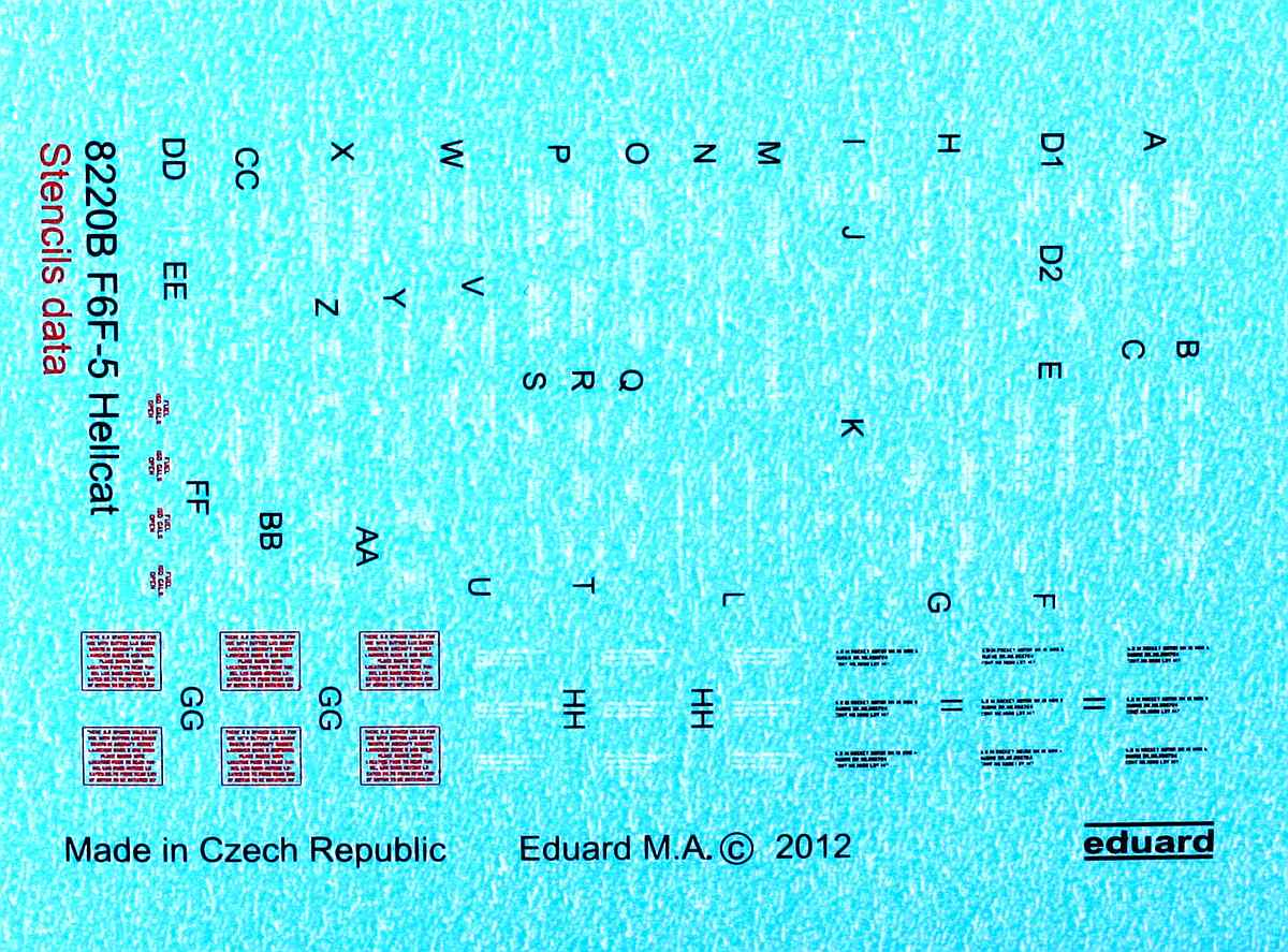 Eduard-8435-Hellcat-Mk.-I-WEEKEND-4 Hellcat Mk. I in 1:48 von Eduard WEEKEND #8435