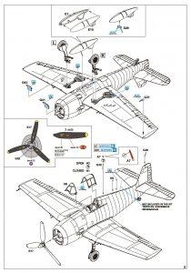 Eduard-8435-Hellcat-Mk.-I-WEEKEND-Bauanleitung4-210x300 Eduard 8435 Hellcat Mk. I WEEKEND Bauanleitung4