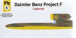 Daimler Benz Project F in 1:144 von FLY #14431