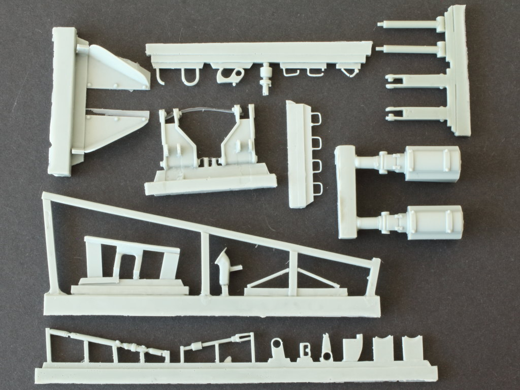 IMG_0069 M48A1 Dozer Blade Kit 1:35 Perfect Scale (#35154)