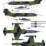 Kinetic-Gold-48082-F-104G-Starfighter-Bemalungsschemen1-1-150x150 F-104G Luftwaffe Starfighter in 1:48 von KINETIC #48083