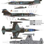 Kinetic-Gold-48082-F-104G-Starfighter-Bemalungsschemen1-3-150x150 F-104G Luftwaffe Starfighter in 1:48 von KINETIC #48083