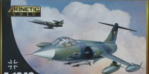 F-104G Luftwaffe Starfighter in 1:48 von KINETIC #48083