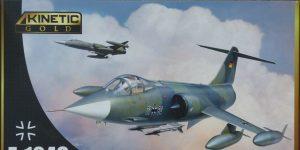 F-104G Luftwaffe Starfighter in 1:48 von KINETIC #48083