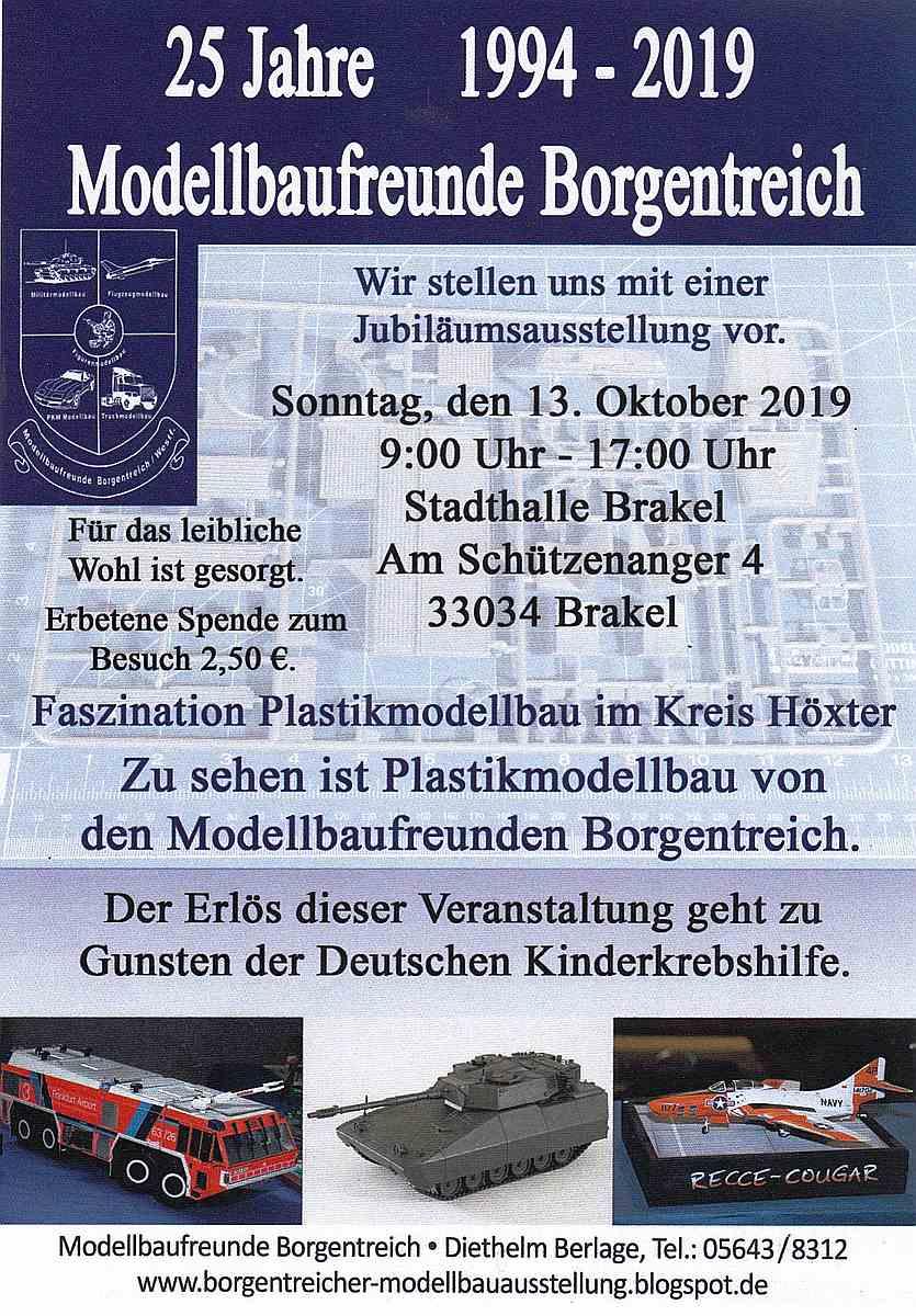 MBF-Borgentreich-2019 25 Jahre Modellbaufreunde Borgentreich am 13. Oktober