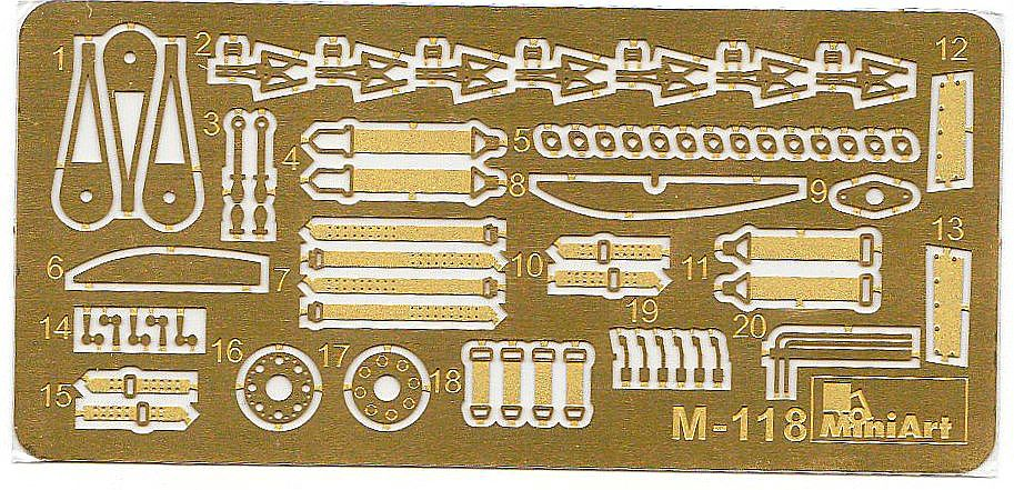 MiniArt-41008-Avro-671-Rota-Mk.-I-RAF-Ätzteile Avro 671 Rota Mk. I RAF in 1:35 von MiniArt # 41008