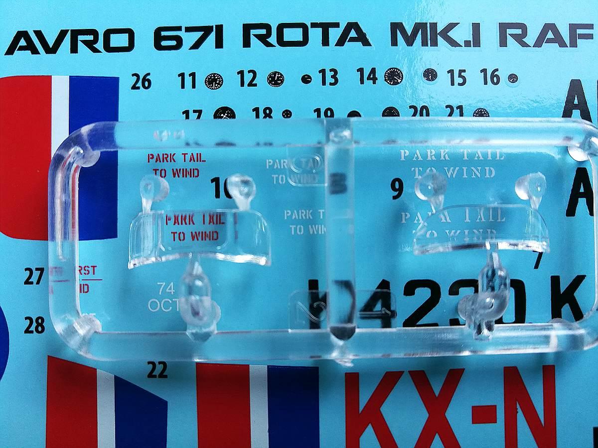 MiniArt-41008-Avro-671-Rota-Mk.-I-RAF-23 Avro 671 Rota Mk. I RAF in 1:35 von MiniArt # 41008