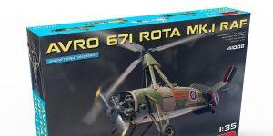 Avro 671 Rota Mk. I RAF in 1:35 von MiniArt # 41008