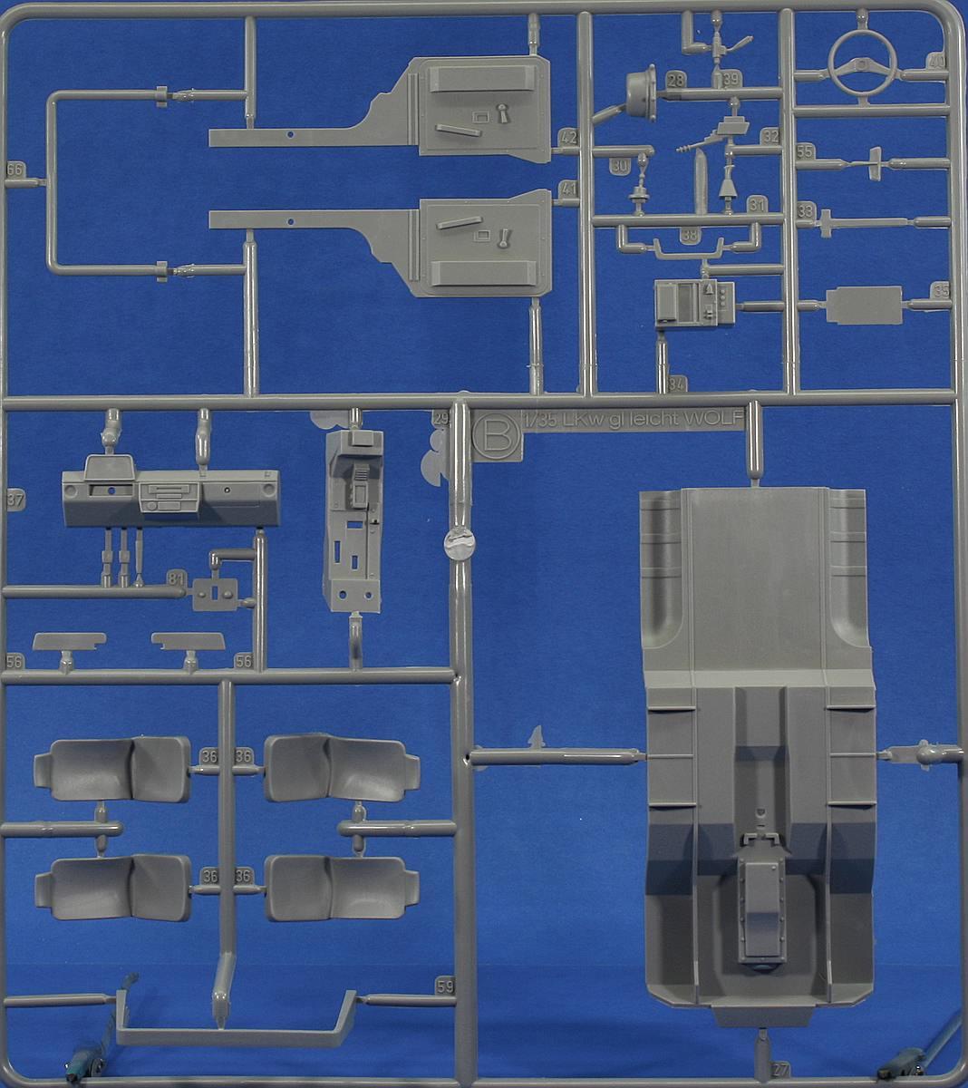 Revell-03277-LKW-gl-leicht-Wolf-13 LKW gl le WOLF in 1:35 von Revell 03277